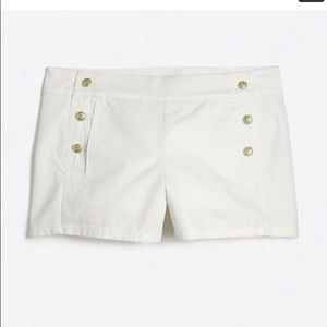 NWT J. Crew sailor shorts size 8